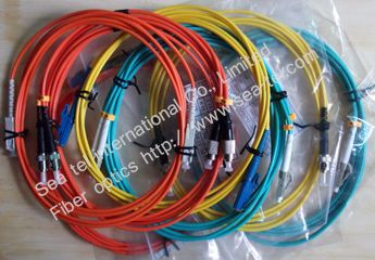 SC, LC, FC, ST, E2000 SM/MM Fiber Optic patch cord