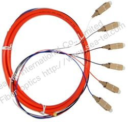 SC MM Fiber Optic pigtail 6cores