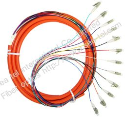 LC MM Fiber optic pigtail 12cores