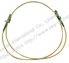 E2000/APC SM Simplex Fiber Optic Patch cord
