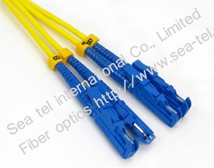E2000/PC SM Duplex Fiber Optic Patch cord