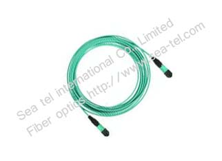 MTRJ Duplex OM3 Fiber Optic Patch Cord