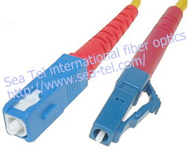 LC to SC  fiber optical patch cord