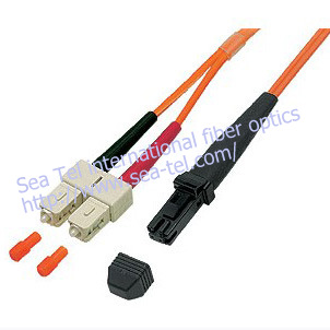 MTRJ to SC  fiber optical patch cord