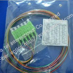 SC/APC Fiber Optic pigtail cable 12 Colours