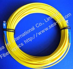 SC/PC Single mode Simplex  Fiber Optic Patch cord
