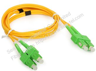 SC/APC  Single mode Dueplex Fiber Optic Patch cord