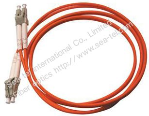 LC/PC Multi-mode Duplex Fiber Optic patch cord OM1