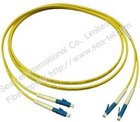 LC/PC Single mode Simlex Fiber Optic patch cord