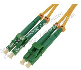 LC/APC Single mode Duplex Fiber Optic Patch cord