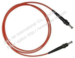ST/PC Multi-mode Simplex Fiber Optic Patch cord