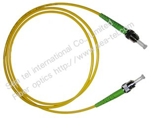 ST/APC Single mode Simplex Fiber Optic Patch cord